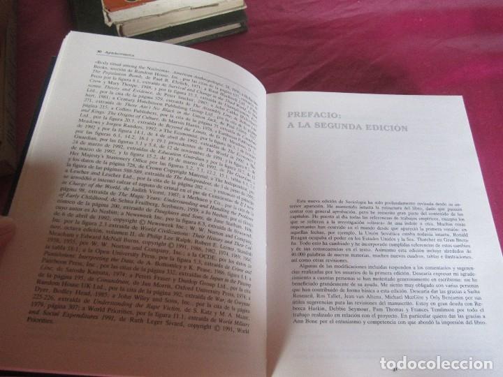 Libros de segunda mano: SOCIOLOGIA ANTHONY GIDDENS ALIANZA - Foto 5 - 48299753