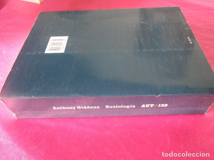 Libros de segunda mano: SOCIOLOGIA ANTHONY GIDDENS ALIANZA - Foto 8 - 48299753