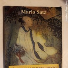 Libros de segunda mano: LIBROS PENSAMIENTO SOCIOLÓGICO - MÚSICA PARA LOS INSTRUMENTOS DEL CUERPO CLAVES DE ANATOMÍA MARIO SA. Lote 117683772
