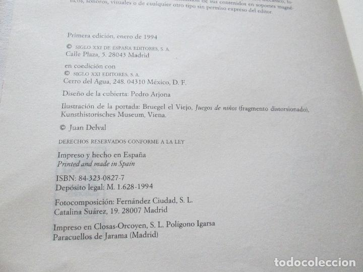 Libros de segunda mano: libro-el desarrollo hmano-juan delval-siglo xxi editores-1ªedición-1994-ver fotos - Foto 7 - 117700731