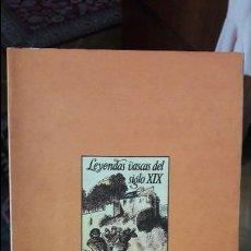 Libros de segunda mano: LA TRADICION ROMANTICA, LEYENDAS VASCAS. JON JUARISTI, ED. PAMIELA, 1986. Lote 119540751