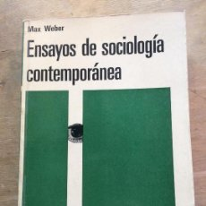 Second hand books - ENSAYOS DE SOCIOLOGÍA CONTEMPORÁNEA. MAX WEBER. - 120306719