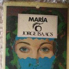 Libros de segunda mano: MARÍA - JORGE ISAACS. Lote 120435603