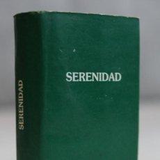Libros de segunda mano: SERENIDAD,EDITADO POR ALFREDO BRICEÑO,PERÚ,1990,MINILIBRO.. Lote 121664931