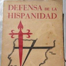 Libros de segunda mano: DEFENSA DE LA HISPANIDAD. RAMIRO DE MAETZU. CUARTA EDICION. 1941. Lote 122277398