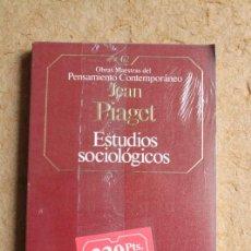 Libros de segunda mano - Estudios sociológicos. jean Piaget. Obras Maestras del Pensamiento Contemporáneo. - 122885579