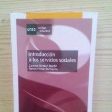 Libros de segunda mano: INTRODUCCION A LOS SERVICIOS SOCIALES - UNED. Lote 123394643