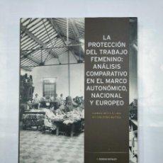 Libros de segunda mano: LA PROTECCION DEL TRABAJO FEMENINO. CARMEN ORTIZ LALLANA. BEGOÑA SESMA BASTIDA. TDK307. Lote 126580671