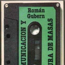 Libros de segunda mano: COMUNICACION Y CULTURA DE MASAS - ROMAN GUBERN *. Lote 127239683