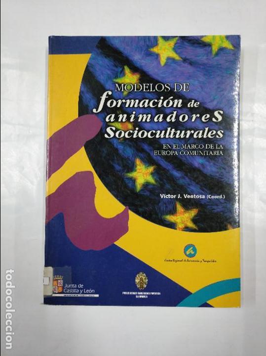 MODELOS DE FORMACION DE ANIMADORES SOCIOCULTURALES. VICTOR J. VENTOSA. TDK350 (Libros de Segunda Mano - Pensamiento - Sociología)