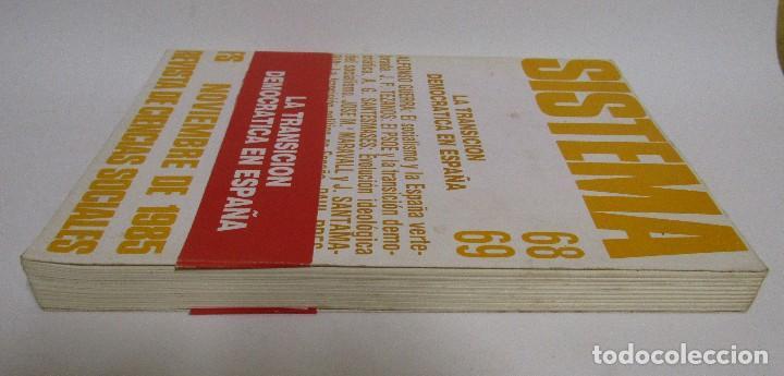 Libros de segunda mano: SISTEMA LA TRANSICION DEMOCRATICA EN ESPAÑA (ALFONSO GUERRA-J.F. TEZANOS-PAUL PRESTON...) - Foto 3 - 129027175