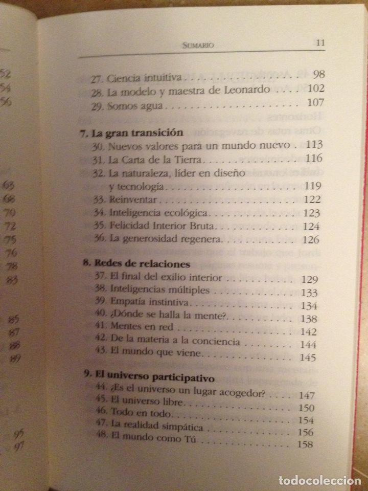 Libros de segunda mano: Buena crisis. Hacia un mundo postmaterialista (Jordi Pigem) - Foto 5 - 129658772