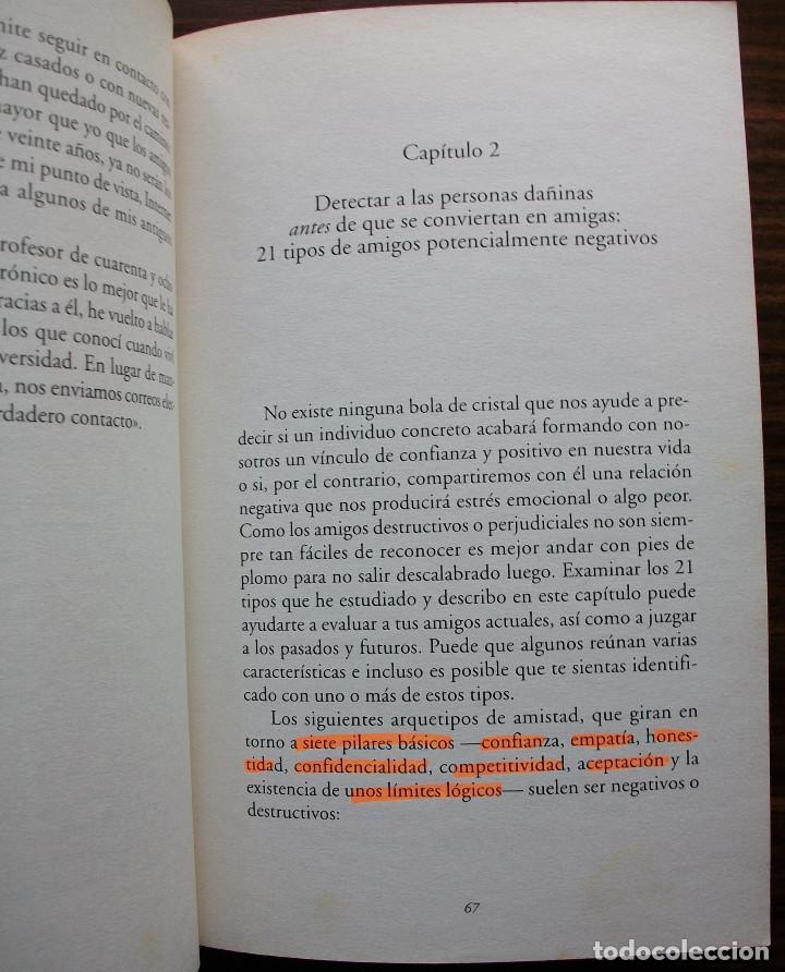 Libros de segunda mano: AMIGOS QUE TE HACEN DAÑO. JAN YAGER. 1ª EDICION, 2006 - Foto 3 - 129659859