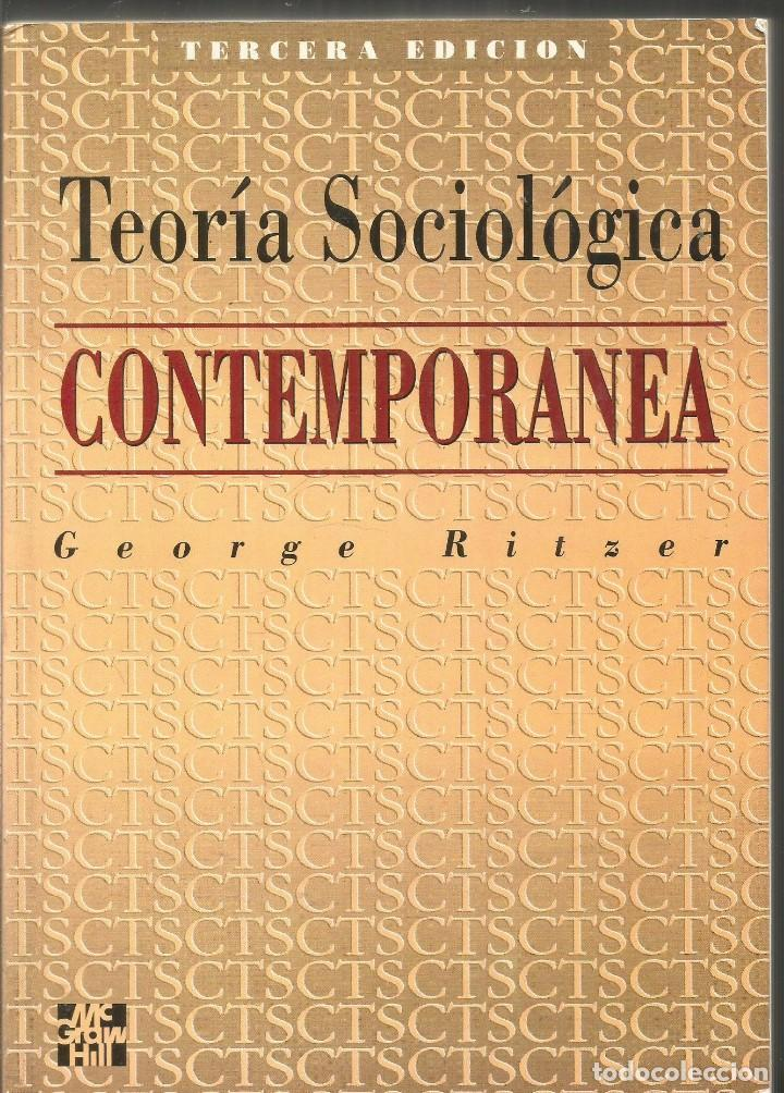 libro teoria sociologica clasica de george ritzer