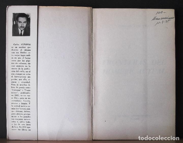 Libros de segunda mano: Fronteras del hombre actual. Carlos Alfonso. - Foto 2 - 131988482