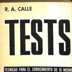 Libros de segunda mano: TESTS - TECNICAS PARA EL CONOCIMIENTO DE SI MISMO Y DE LOS DEMAS - TOMO II -----REF-5ELLCAR. Lote 132113818