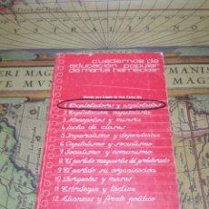 Libros de segunda mano: CUADERNOS DE EDUCACION POPULAR DE MARTA HARNECKER. 1. EXPLOTADORES Y EXPLOTADOS. 1976. Lote 132550614