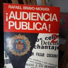Libros de segunda mano: AUDIENCIA PUBLICA, RAFAEL MORATA, ED. RTVE. 1974, RARO. Lote 133339522