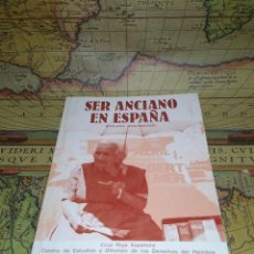 Libros de segunda mano: SER ANCIANO EN ESPAÑA- CRUZ ROJA ESPAÑOLA. Lote 133766238