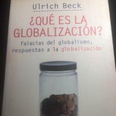 Libros de segunda mano: ¿QUÉ ES LA GLOBALIZACIÓN? ULRICH BECK. Lote 133775923