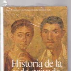 Libros de segunda mano: HISTORIA DE LA VIDA PRIVADA - DE IMPERIO ROMANO AL AÑO MIL - TAURUS / PRECINTADO, SIN USO. Lote 134067858