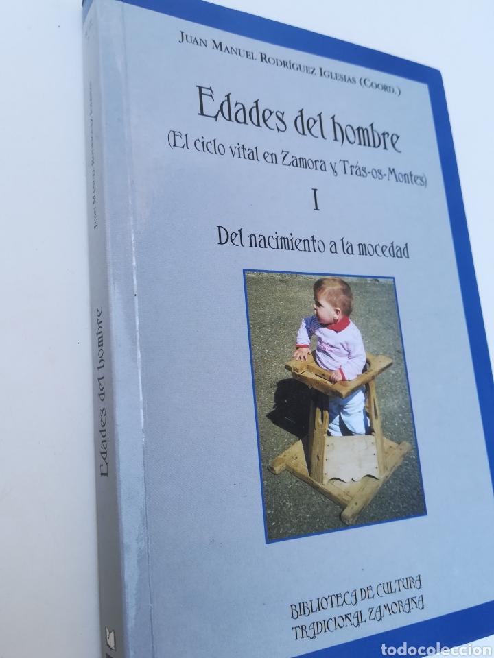 EDADES DEL HOMBRE, EL CICLO VITAL EN ZAMORA Y TRAS-OS-MONTES. TOMO 1 (Libros de Segunda Mano - Pensamiento - Sociología)