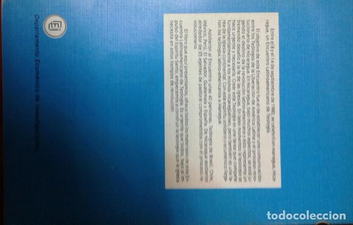 Libros de segunda mano: Apuntes para unaTeología Nicaragüense - Encuentro sep 1980 Managua - Nicaragua - Liberación América - Foto 3 - 135776510