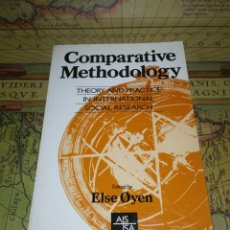 Livros em segunda mão: COMPARATIVE METHODOLOGY THEORY AND PRACTICE IN INTERNATIONAL SOCIAL RESEARCH- FIRST EDITION 1990. Lote 135846506