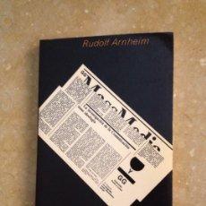 Libros de segunda mano: ESTÉTICA RADIOFÓNICA (RUDOLF ARNHEIM). Lote 136263488