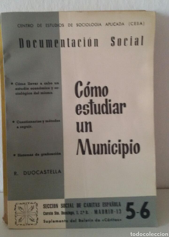 Libros de segunda mano: DOCUMENTACIÓN SOCIAL. CENTRO DE ESTUDIOS DE SOCIOLIGÍA APLICADA (CESA). CÁRITAS ESPAÑOLA. 7 NÚMEROS - Foto 3 - 136673230