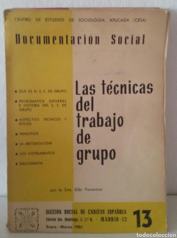 Libros de segunda mano: DOCUMENTACIÓN SOCIAL. CENTRO DE ESTUDIOS DE SOCIOLIGÍA APLICADA (CESA). CÁRITAS ESPAÑOLA. 7 NÚMEROS - Foto 4 - 136673230