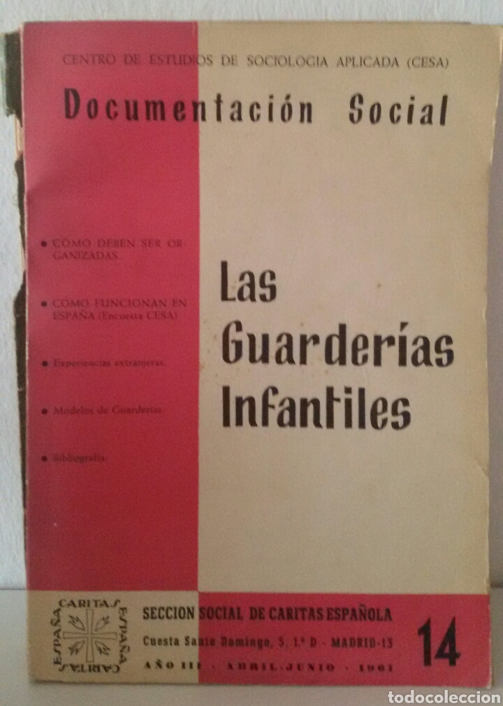 Libros de segunda mano: DOCUMENTACIÓN SOCIAL. CENTRO DE ESTUDIOS DE SOCIOLIGÍA APLICADA (CESA). CÁRITAS ESPAÑOLA. 7 NÚMEROS - Foto 5 - 136673230