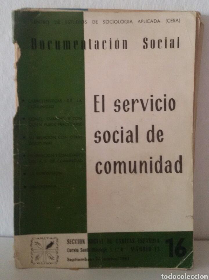 Libros de segunda mano: DOCUMENTACIÓN SOCIAL. CENTRO DE ESTUDIOS DE SOCIOLIGÍA APLICADA (CESA). CÁRITAS ESPAÑOLA. 7 NÚMEROS - Foto 6 - 136673230
