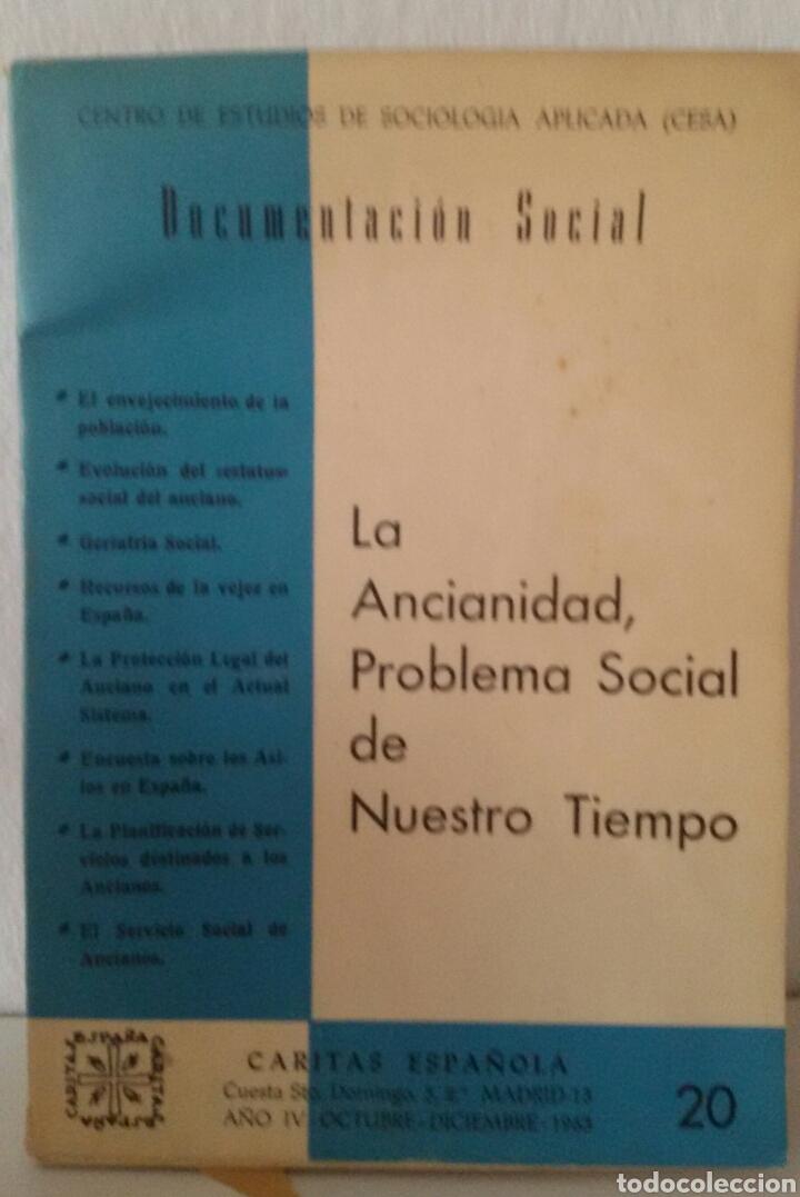 Libros de segunda mano: DOCUMENTACIÓN SOCIAL. CENTRO DE ESTUDIOS DE SOCIOLIGÍA APLICADA (CESA). CÁRITAS ESPAÑOLA. 7 NÚMEROS - Foto 7 - 136673230