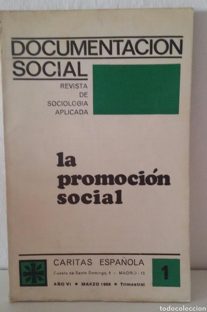Libros de segunda mano: DOCUMENTACIÓN SOCIAL. CENTRO DE ESTUDIOS DE SOCIOLIGÍA APLICADA (CESA). CÁRITAS ESPAÑOLA. 7 NÚMEROS - Foto 8 - 136673230