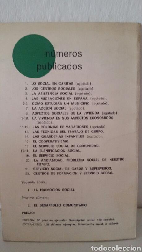 Libros de segunda mano: DOCUMENTACIÓN SOCIAL. CENTRO DE ESTUDIOS DE SOCIOLIGÍA APLICADA (CESA). CÁRITAS ESPAÑOLA. 7 NÚMEROS - Foto 9 - 136673230