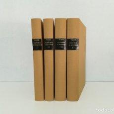 Libros de segunda mano: ECONOMÍA Y SOCIEDAD (4 VOLS.).- MAX WEBER (1944). Lote 131114768