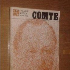 Second hand books - FRANCIS SIDNEY MARVIN - COMTE - FONDO DE CULTURA ECONÓMICA, 1978 - 138069778