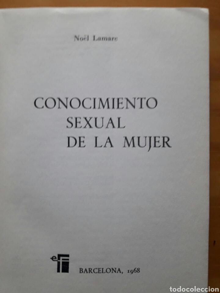 Libros de segunda mano: Conocimiento sexual de la mujer - Foto 2 - 138953204
