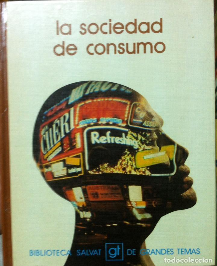 EDUARDO HARO TECGLEN. LA SOCIEDAD DE CONSUMO. 1973 (Libros de Segunda Mano - Pensamiento - Sociología)