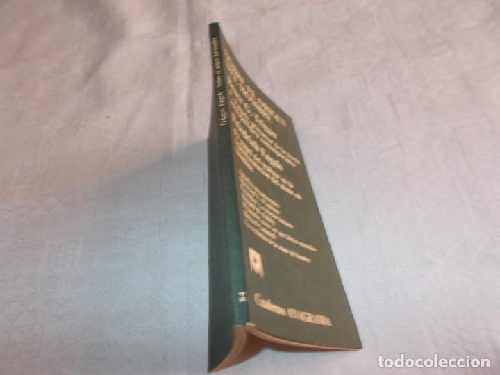 Libros de segunda mano: SOBRE EL ORIGEN DEL HOMBRE Bruce G. Trigger / Friedrich Engels - Foto 2 - 139892046