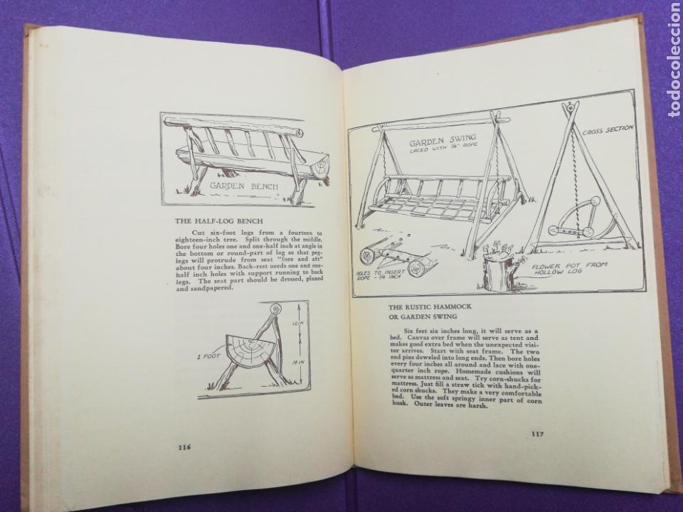 Libros de segunda mano: Your cabin in the woods. Conrad E. Meinecke Walden Thoreau - Foto 6 - 140283708