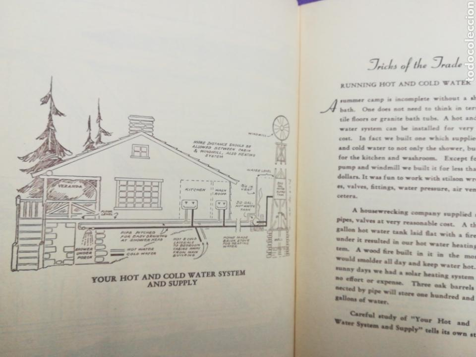 Libros de segunda mano: Your cabin in the woods. Conrad E. Meinecke Walden Thoreau - Foto 10 - 140283708