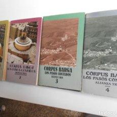 Libros de segunda mano: LOS PASOS CONTADOS. 4 TOMOS. . Lote 141116146