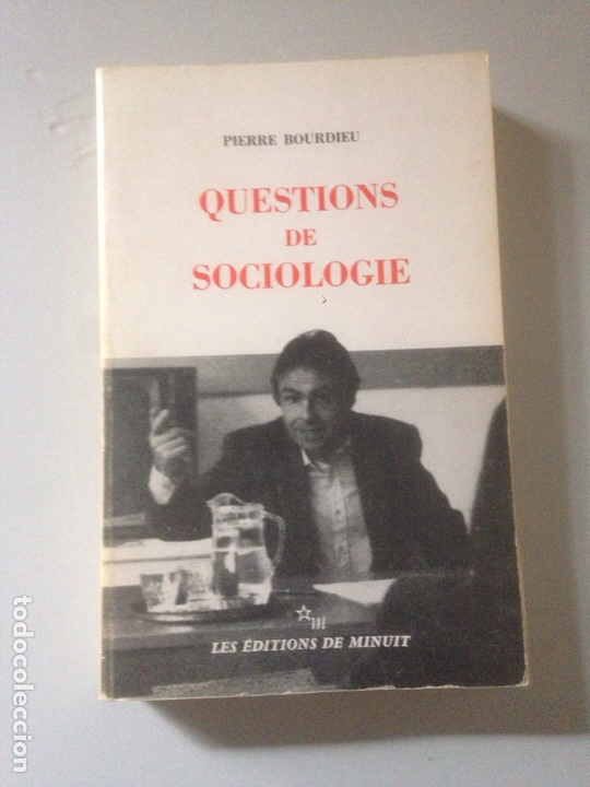 QUESTIONS DE SOCIOLOGIE (Libros de Segunda Mano - Pensamiento - Sociología)