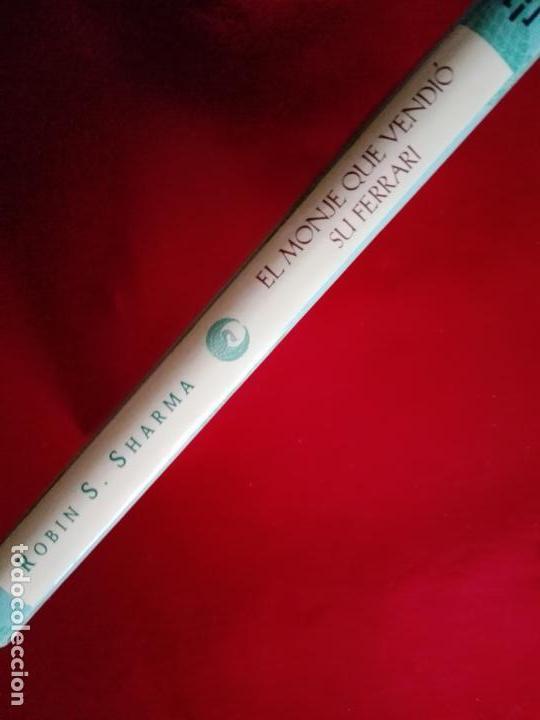 Libros de segunda mano: libro-el monje que vendió su ferrari-una fábula espiritual-robin s. sharma-debolsillo-2010- - Foto 2 - 141441486