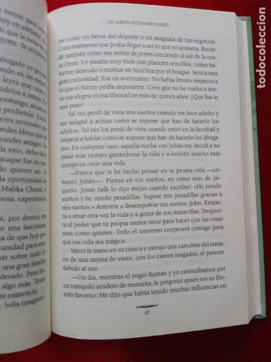 Libros de segunda mano: libro-el monje que vendió su ferrari-una fábula espiritual-robin s. sharma-debolsillo-2010- - Foto 12 - 141441486