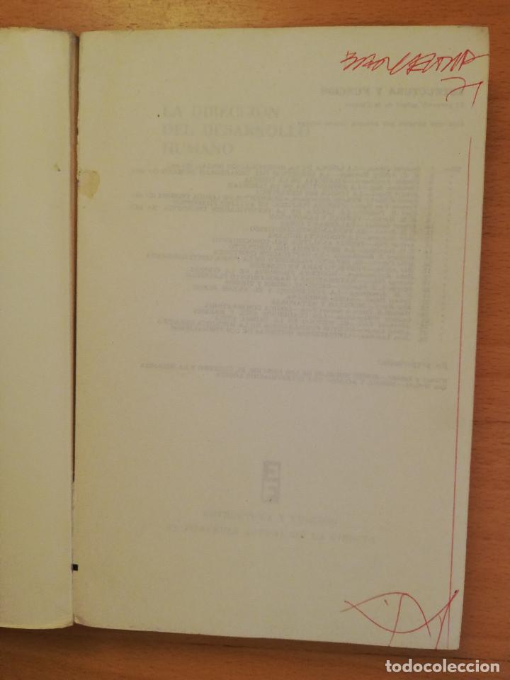 Libros de segunda mano: LA DIRECCION DEL DESARROLLO HUMANO (ASHELY MONTAGU) - Foto 2 - 251517325