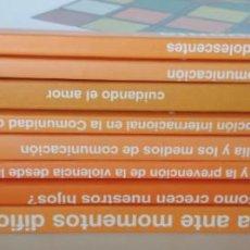 Libros de segunda mano: 8 LIBROS, GUIAS LA FAMILIA CUENTA CONSEJERIA DE FAMILIA Y ASUNTOS SOCIALES, COMUNIDAD DE MADRID 2004. Lote 142727010
