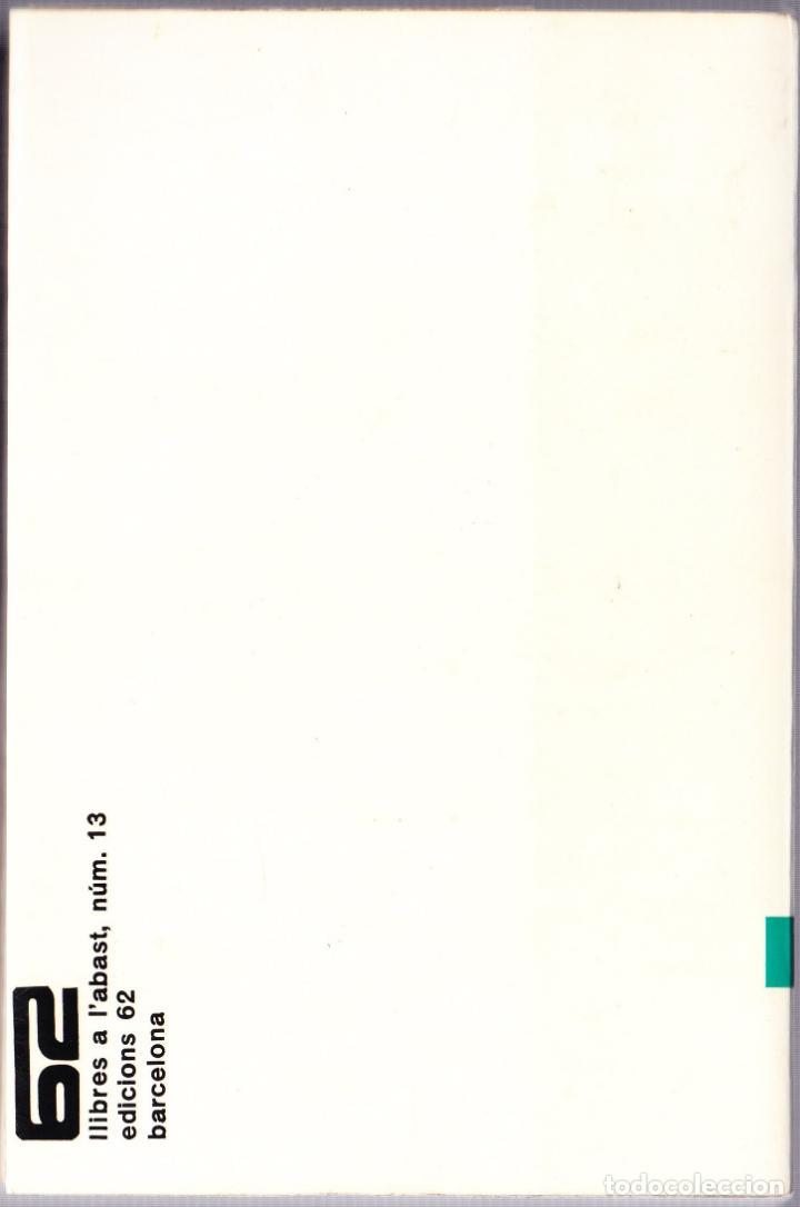 Libros de segunda mano: M - ELS ALTRES CATALANS - FRANCESC CANDEL - CATALAN - EDICIONS 62 - 1967 - Foto 2 - 142772398